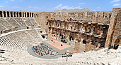 Aspendos theater in Antalya